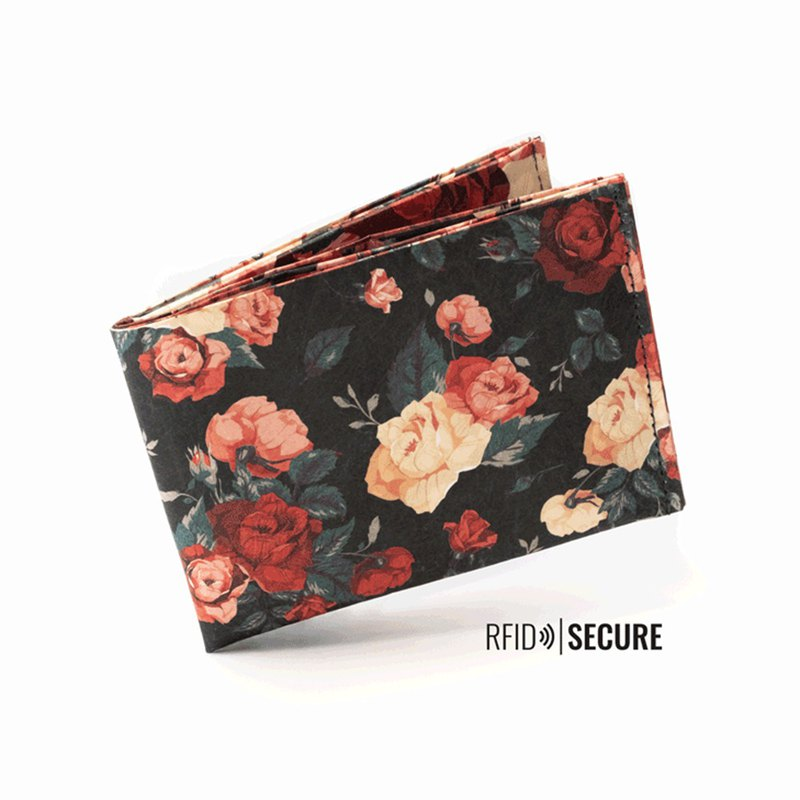 Germany Paprcuts.de RFID anti-theft change wallet (rose)
