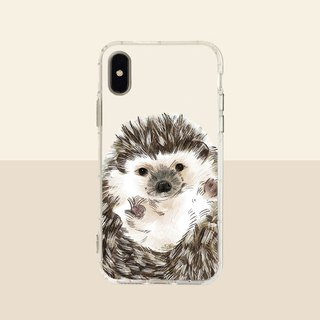 Big face hedgehog embossed air shell-iPhone/Samsung, HTC.OPPO.ASUS original pet phone case