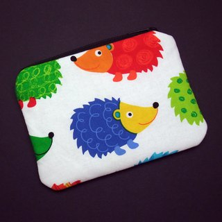 Zipper pouch / coin purse (padded) (ZS-229)