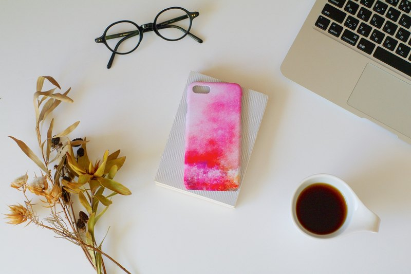 "Orders production] iPhone / Android Case ""and the forest, sunset"""