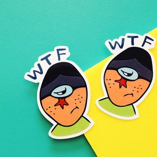 WTF-LINE texture series / sticker