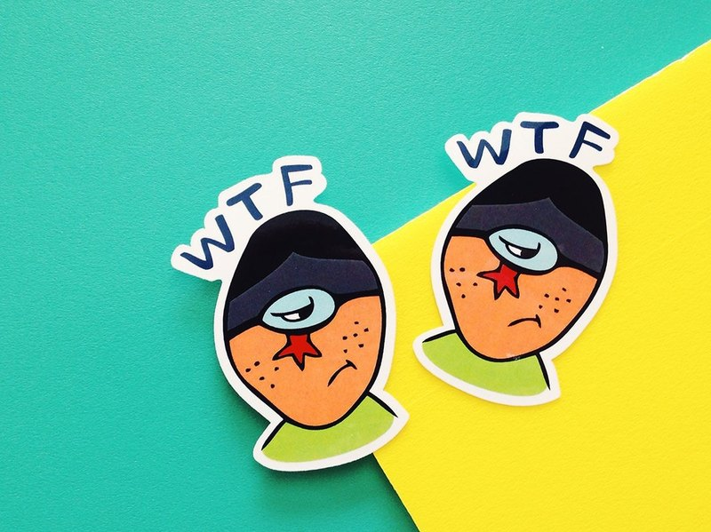 WTF-LINE texture series / stickers