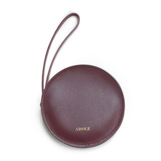 【ADOLE】 sandwich purse / wine red