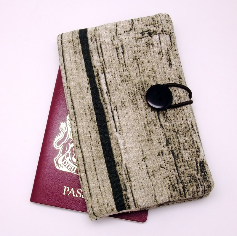 Passport sleeve, passport cover, fabric passport case, pouch (Ps2)