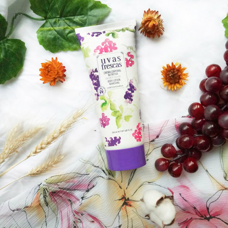 Moisturizing Body Lotion - Uvas Frescas Spanish Organic Wine Grape Care