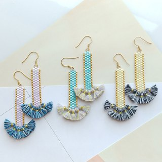 Swing Time Tassels Earrings / Bohemian Glamour