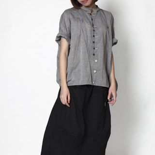 And - Flight to Lost Country - Former irregular loop trim shirt