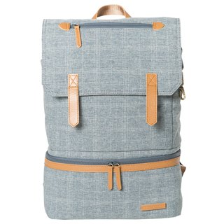 Double layered gentleman backpack_Denim for the gentleman