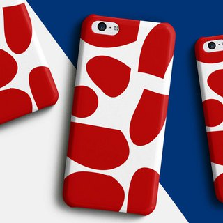 Red cow Phone case