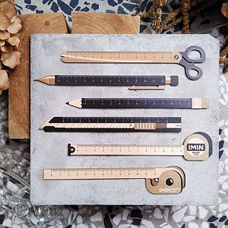 Wooden ruler Ruler - stationery models