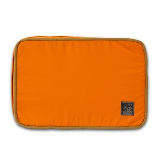 Lifeapp sleeping pad replacement cloth cover XS_W45xD30xH5cm (orange blue) does not contain sleeping pad