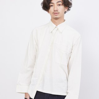 Crossbody Long Sleeve Shirt_Pearl Diamond Pattern_Fair Trade