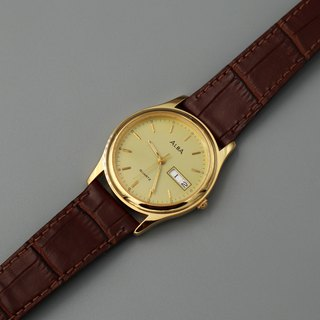 ALBA Premium Neutral Antique Quartz Watch