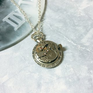 Frozen Time | Top Table Movement Necklace