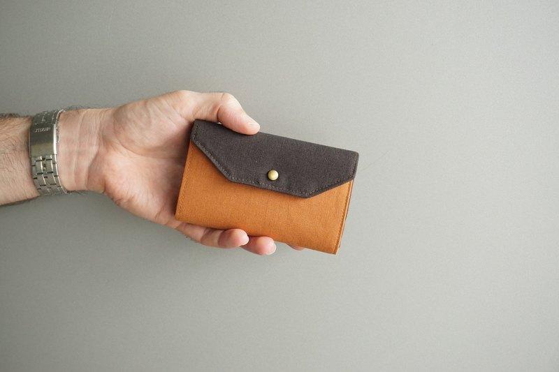 男 短夾 – 錢包 – 輕帆布 - 多色選擇 - wallet-men
