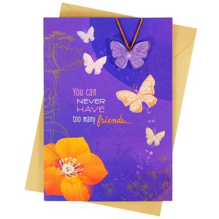 We are always friends (Hallmark - creative hand-made card friendship lasts)