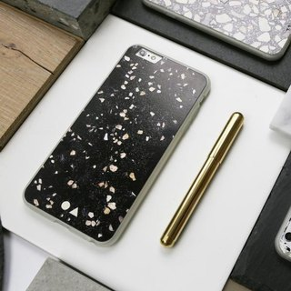 FORM MAKER iPhone Case 6S / 7/8 Black Terrazzo