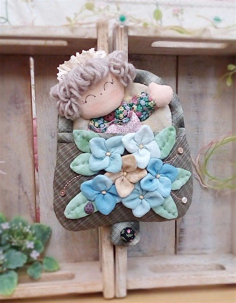 wonderland22 selling flowers baby baby hanging pouch | hydrangea ornaments