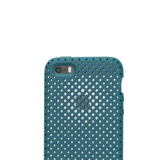 AndMesh i7/8Plus Japan QQ Dot Soft Impact Protection Cover - Lake Green (4571384958356)