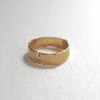 Simple Silver Ring 2 (gold color)