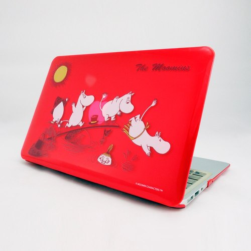 "Moomin Moomin genuine authority -Macbook Crystal Shell: The Moomins [] (red) ""Macbook Pro 15.4 inch special"""