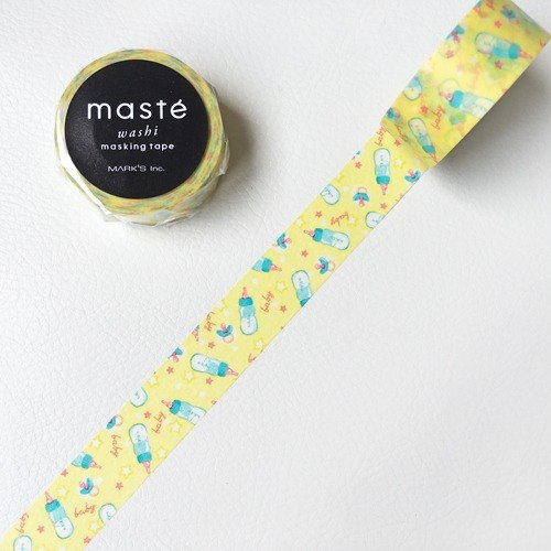 Maste and paper tape Multi Amazing Life series (Bottle (MST-MKT161-A))