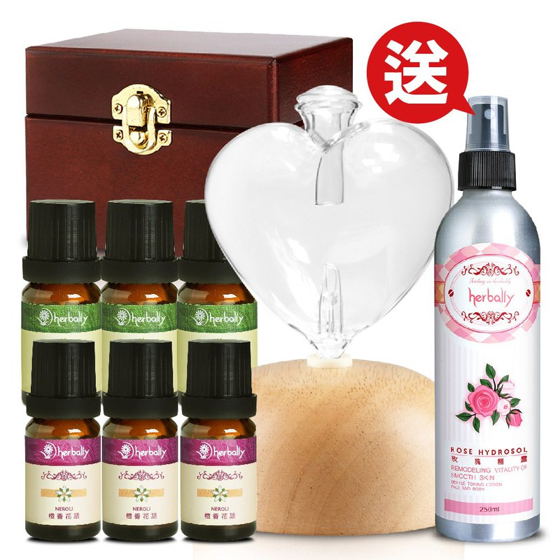 [Herbal Truth] WISH Wish Aromatherapy Instrument Fragrance Set (Send Rose Dewx1)