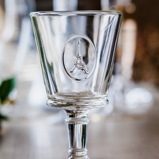 Eiffel Glass Goblet