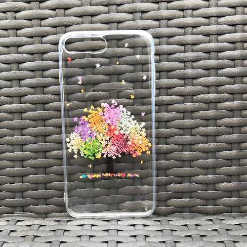 IPhone 7 PLUS Phone Case Dry Pressed Flowers Case