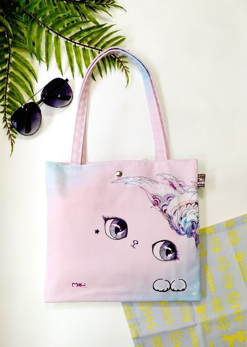 Good light bag / shopping bag / lunch bag ● smile cat