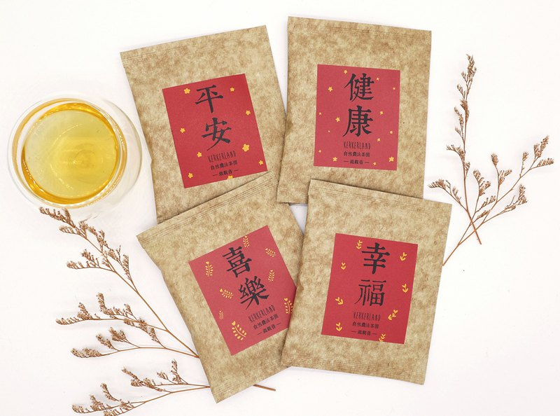 KerKerland-Natural Farming Method Tieguanyin Tea Bag-Blessing Series