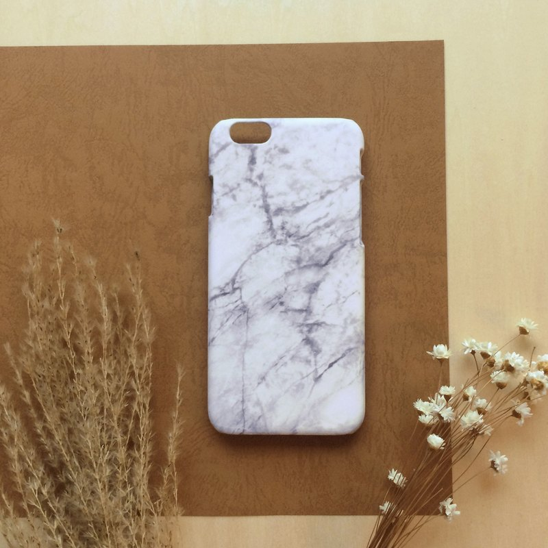 Marble White. Matte Case( iPhone, HTC, Samsung, Sony, LG, OPPO)