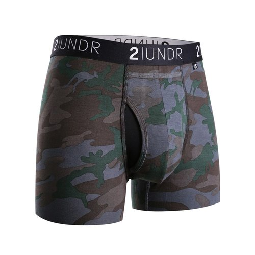 2UNDR SWING SHIFT Modal Capsule Four Point Underwear 【Dark Camo】 (3 ""