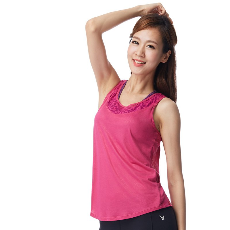 [MACACA] Feather core shadow blouse - AUA1142 pink