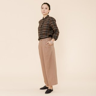 BUFU  Chinese-style wide leg pants  P170611