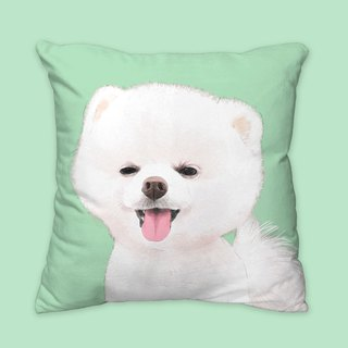 I will love you forever classic Pomeranian animal pillow / pillows / cushions