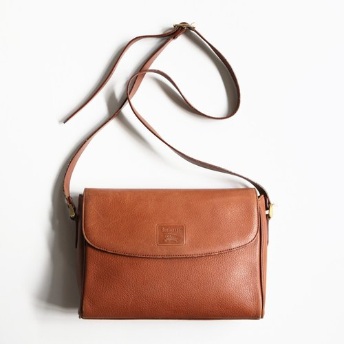 A ROOM MODEL - VINTAGE, Burberry brown small square package / BC-2570