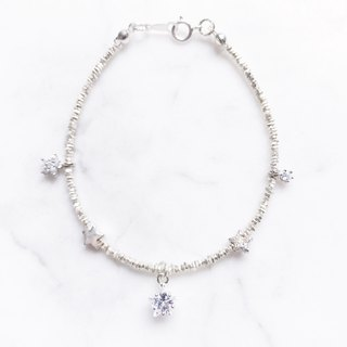 ::Xingyue Series :: Starry Silver Bracelet Anklet Dual-purpose Chain