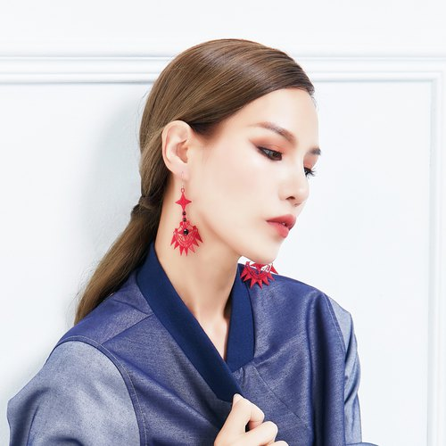 PINKOI limited bag - timeline earrings 2 pieces (large + small)
