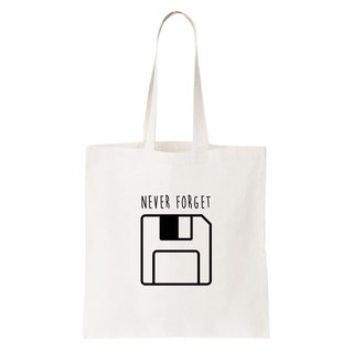 Never Forget Floppy tote bag