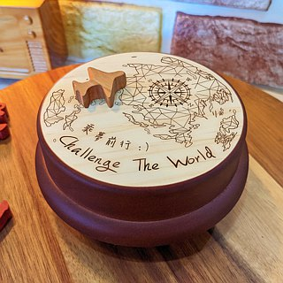 [Birthday Gifts, Commemorative Gifts, Christmas Gifts] Challenge the World Asian Customized Music Box