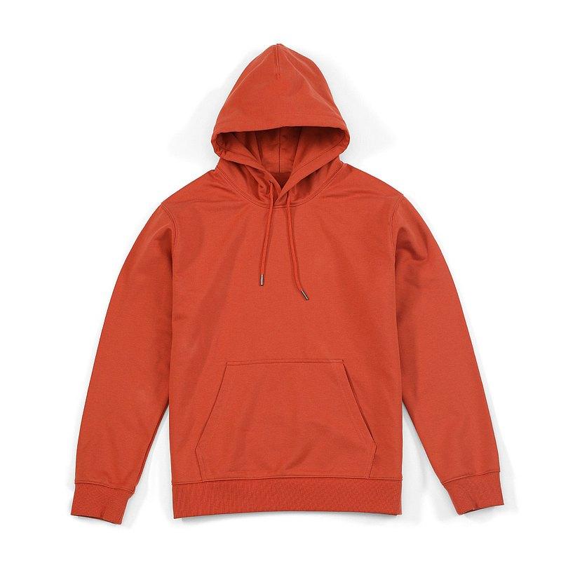 【女人節新品】360g純色帽T深橙