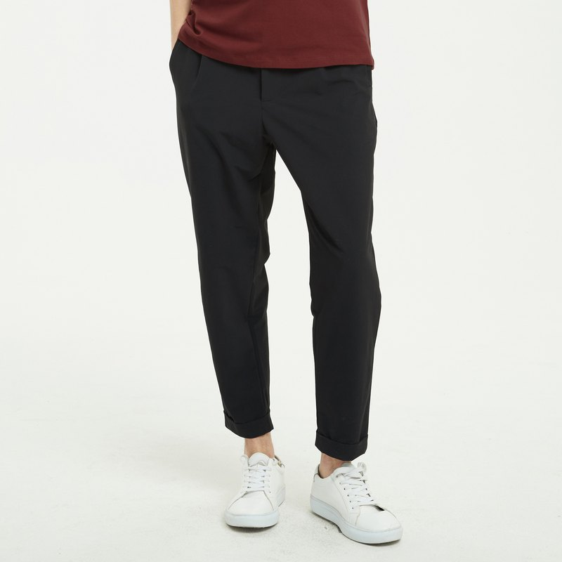Elastic Ankle-length Trousers
