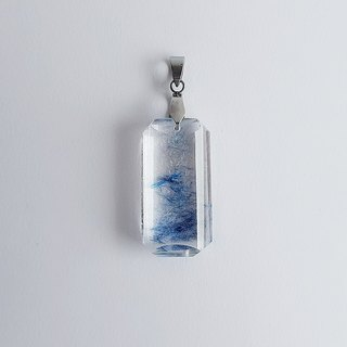 Gemstone ‧ Elves Natural Mineral Blue Hair ‧ Pendant