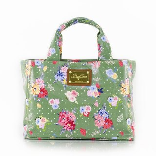 England Rose Waterproof Magnetic Buckle Bag - Green