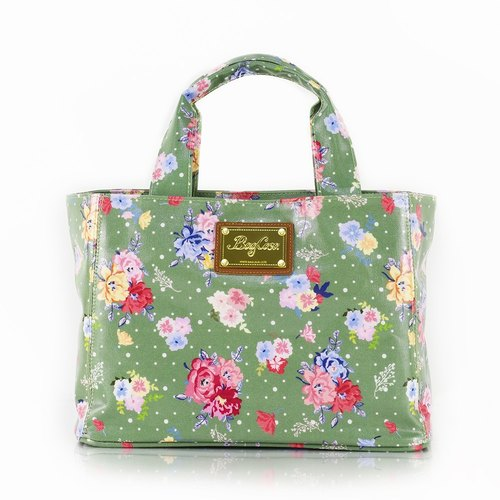 England rose waterproof buckle bag - wiping green