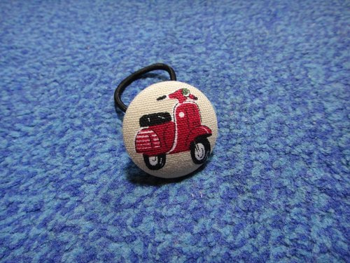 (C) Vespa_ Fabric Button Hairband C54CIX59