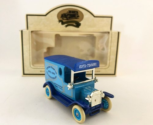 British system early blue sky philatelic T-car (including original box) (Pinkoi limited) (J)