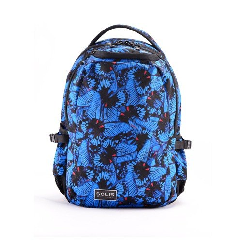 "SOLIS [ Butterfly Series ] 13"" Ultra+ basic laptop backpack(Midnight Blue)"