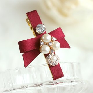 Graceful Pearl Decoration Hair Clip